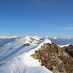 Da Orgià verso il Monte Gambarogno