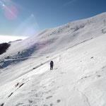 Da Tossignera verso l'Alpe Agario