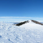 Panoramica dall'Alpe di Gesero