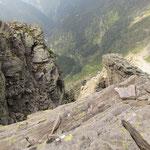 Dalla Cima d'Örz verso la Valle d'Osogna e l'Alpe d'Örz