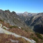 Panoramica dalla Bocchetta d'Egion 2145 m