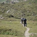 Sentiero San Giacomo - Capanna Corno Gries
