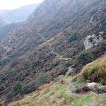 Sentiero nella Val di Serdena