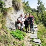 Sentiero Alpe di Bietri - Alpe Cardada