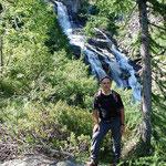 Cascata a Gannone 1550 m ca.