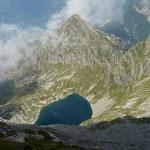 Lago di Canee dal Pizzo di Claro