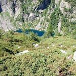 Lago Tomè dal sentiero