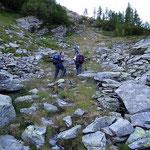 Sentiero per la Bocchetta del Büscenel