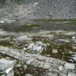 Laghetto sotto il Passo di Lucendro