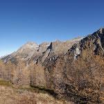 Panoramica dal Passo di Campel Alt