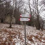 Deviazione Rombiago, Monti Biessen a ca. 900 m