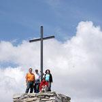 Con due amiche della montagna sul Salmone 1560 m
