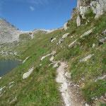 Sentiero per il Brudelhorn