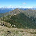 Il Monte Tamaro dal Monte Gradiccioli