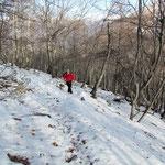 Sentiero per il Monte Paglione