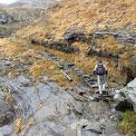 Passaggio tra Odro e Alpe Bardughè