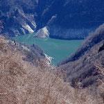 Lago di Vogorno dall'Alpe di Bietri