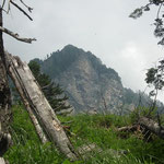 Croce di Renten dal sentiero per Nadi