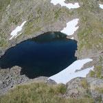 Bocchetta della Miniera e Laghetto della Miniera 2525 m