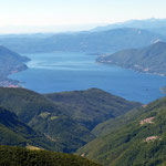 Panoramica dal Monte Tamaro 1961 m