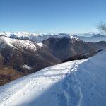 Vista dall'Alpe Agario