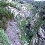 Sentiero per l'Alpe di Ruscada