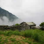 Alpe di Pianaccio 1585 m, e il tempo non promette bene ....