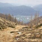Discesa per l'Alpe d'Orino