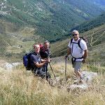 Discesa verso l'Alpe di Bietri