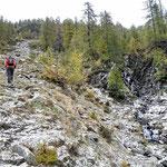 Sentiero Corte Mognòla - Lago di Mognòla