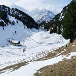 Alp Durnan 1824 m e Lai Lung 1829 m