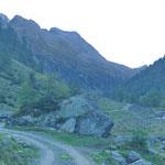 Nella Val di Carassino non è ancora arrivato il sole