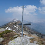 Croce a 2123 m