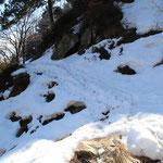 Passaggio delicato (con la neve)