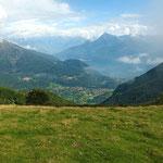 Verso Menaggio ed il Lago di Como