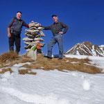 Cima senza nome quotata 1910 m sulla cresta del Morisciolo