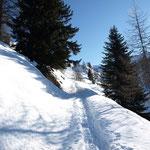 Siamo quasi all'Alpe di Garzonera
