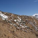 Piano di Cursgell 1524 m dal sentiero