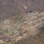 Passo della Garina dal Pizen 1537 m