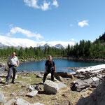 Lago di Ravina 1885 m, Chico e io