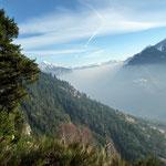 Dal sentiero  ... smog o nebbia?