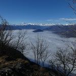 Panorama dai Pizzoni di Laveno