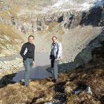 Chico e io al Laghet de Lughezzasca