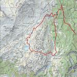 Tragitto (Partenza dalla strada per Pastgaglias sopra Andeer)