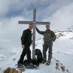 Ilario e io sulla Croce del Bosc 2315 m