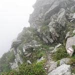 Sentiero Masnee - Scimarmòta