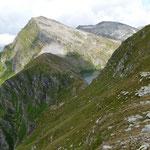 Lago dello Stabbio e Pizzo Taneda dalla Bocchetta degli Oréi