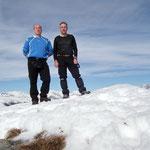 Luciano e io sul Cogn 2166 m