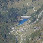 Diga di Compietto e Alpe della Bolla