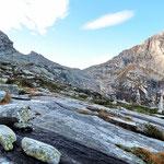 Bocchetta de Cressim per la Val Cama
